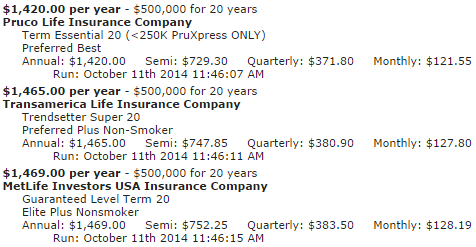 20 Year Term Life Insurance Quotes 17