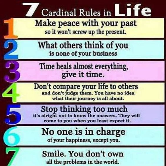 60 Rules Of Life Quote 60 QuotesBae Classy 7 Rules Of Life Quote