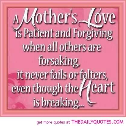 A Mother Love Quotes 16