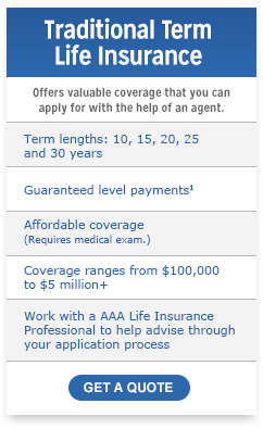 Aaa Life Insurance Quote 01