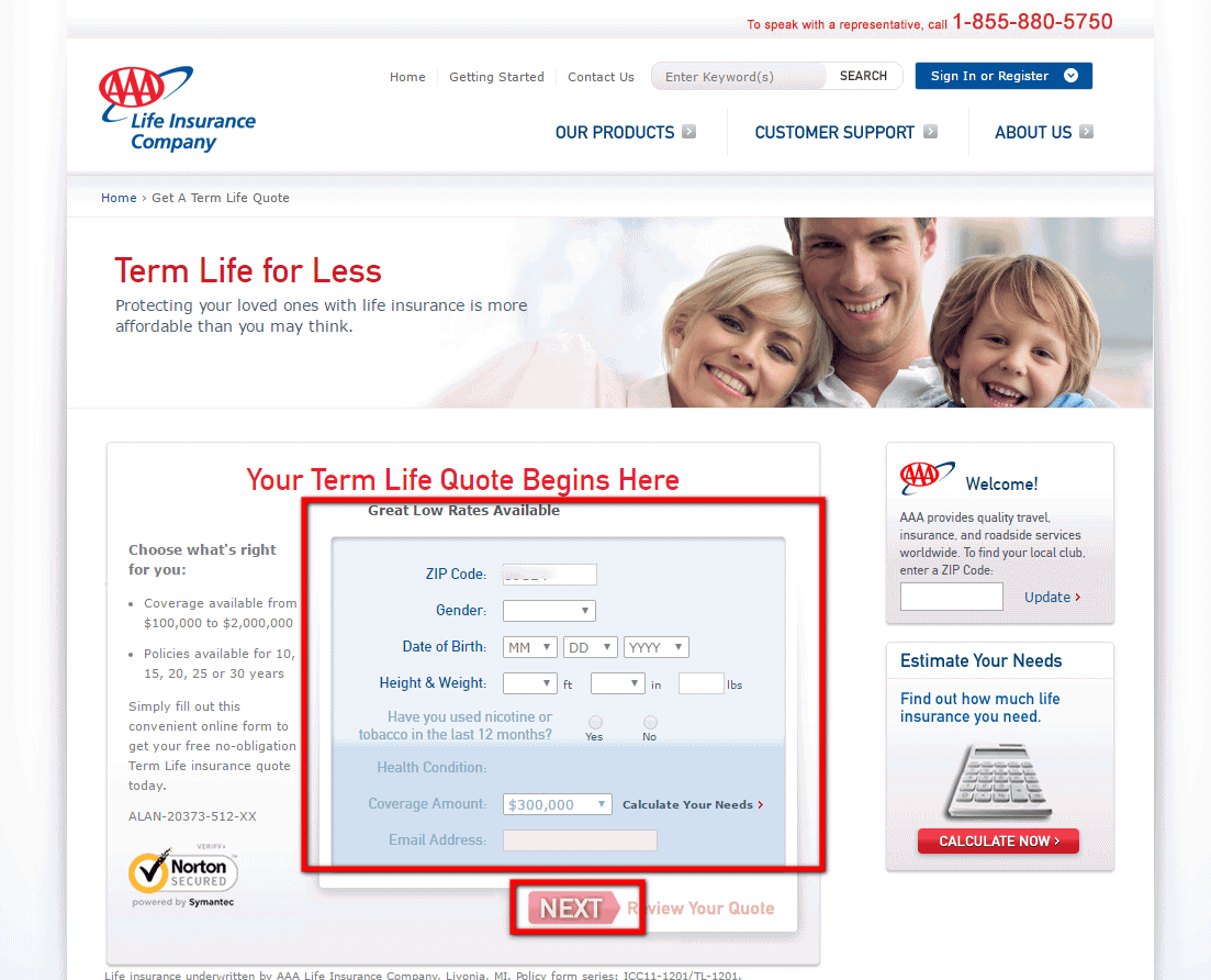 Aaa Life Insurance Quote 02