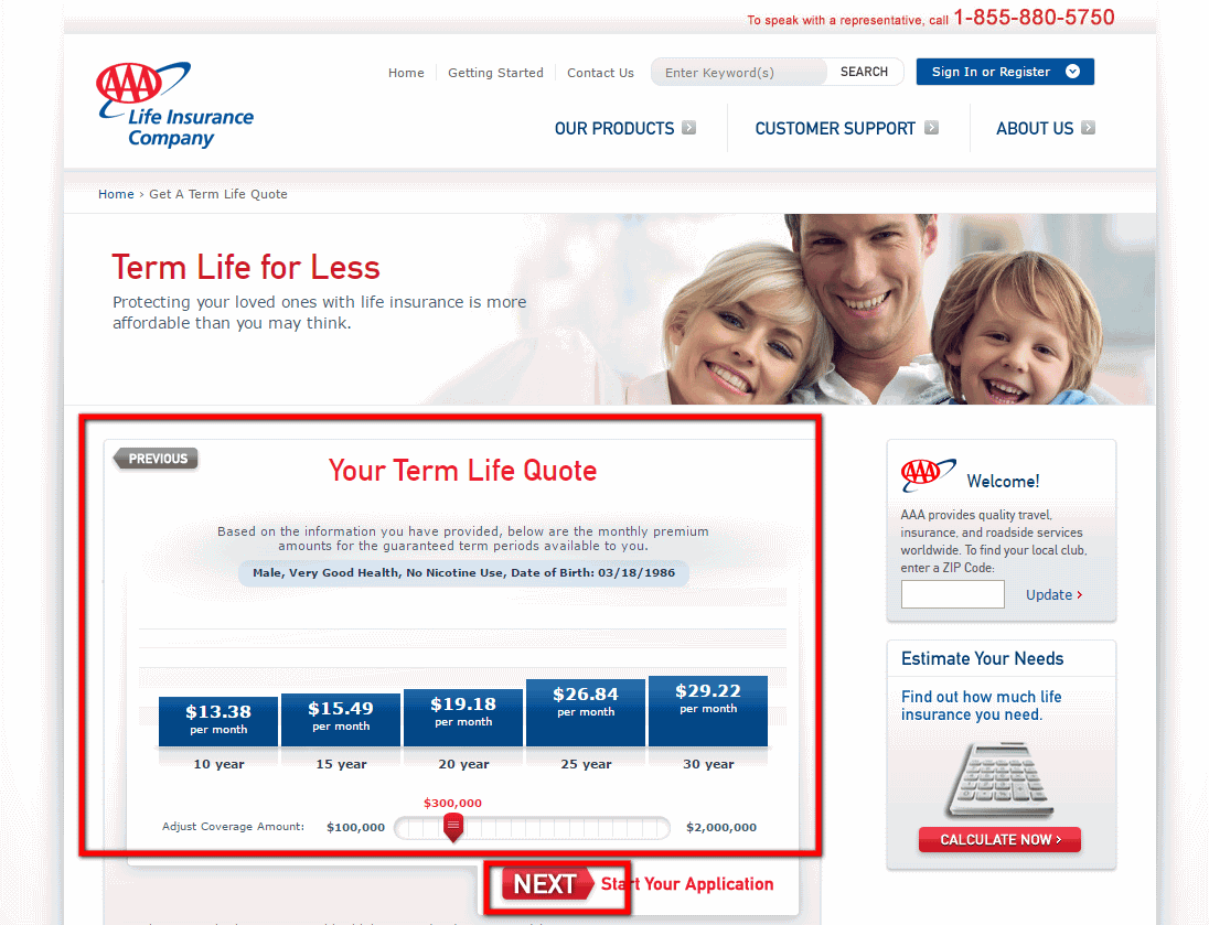 Aaa Life Insurance Quote 17