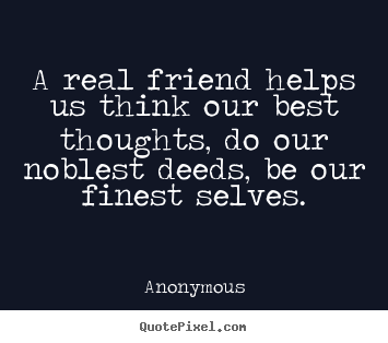 Anonymous Quotes About Friendship 09