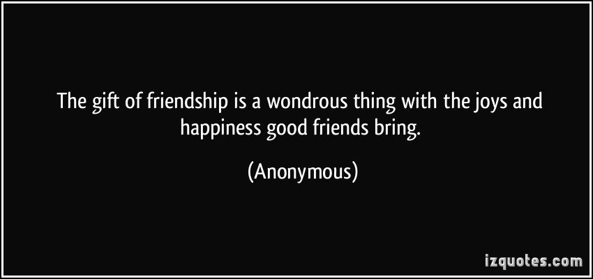 Anonymous Quotes About Friendship 16