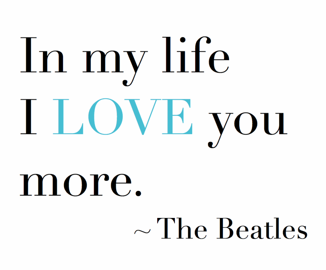 Beatles Quotes Love 08