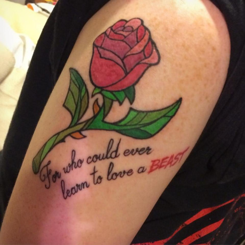 Tattoo Quotes About Beauty: 25 Beauty And The Beast Quote Tattoo With Pictures