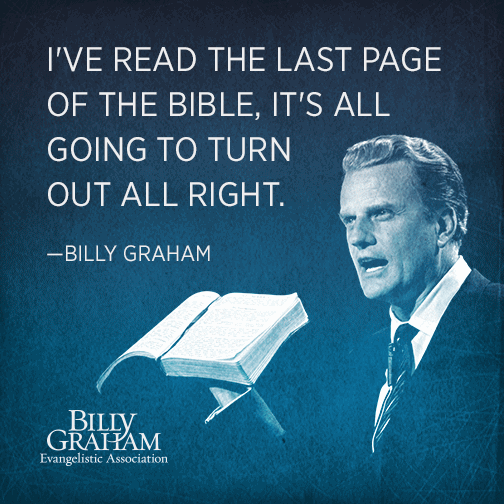 Billy Graham Quotes Meme Image 21