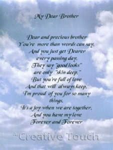 Birthday Quotes For Brother In Heaven Meme Image 01