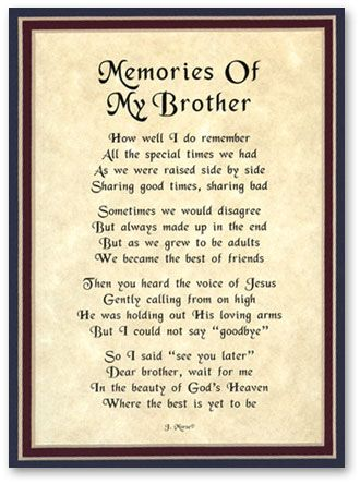 Birthday Quotes For Brother In Heaven Meme Image 04