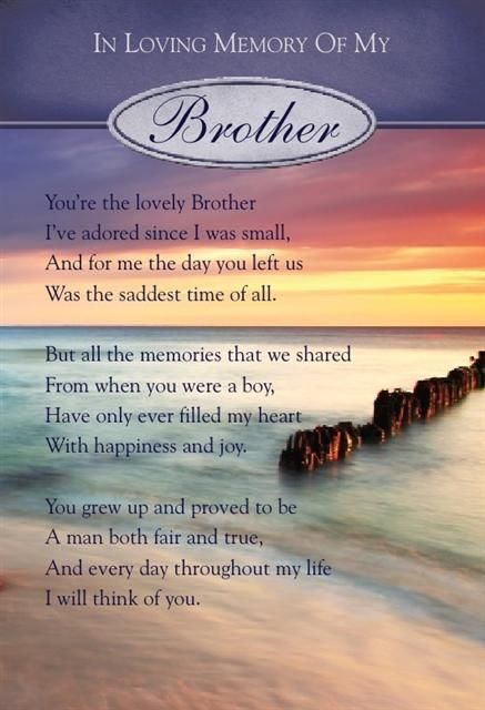 Birthday Quotes For Brother In Heaven Meme Image 06