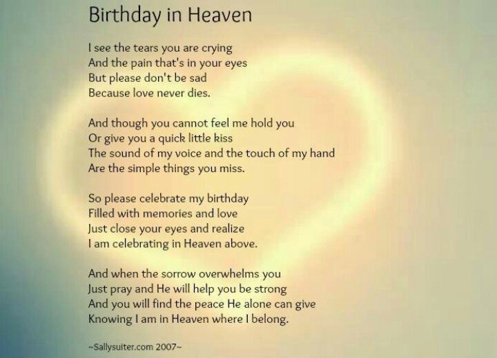 Birthday Quotes For Brother In Heaven Meme Image 08