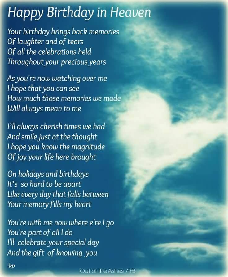 Birthday Quotes For Brother In Heaven Meme Image 14