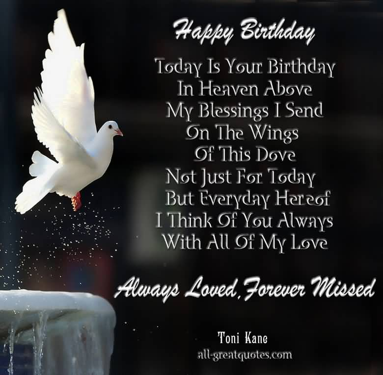 Birthday Quotes For Brother In Heaven Meme Image 18