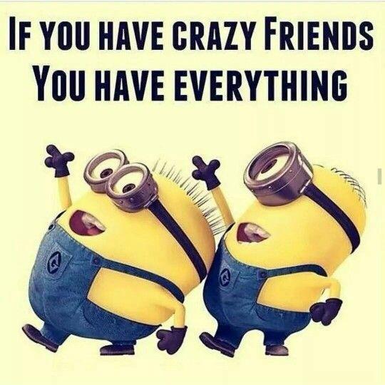 Crazy Friends Quotes Meme Image 14