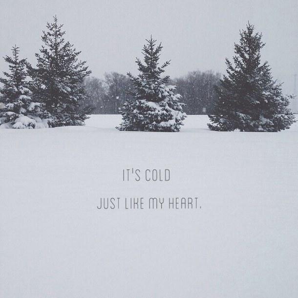 Cute Snow Quotes Meme Image 12