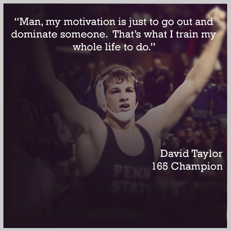 David Taylor Wrestling Quotes Meme Image 09   QuotesBae