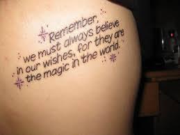 Disney Quote Tattoo Meme Image 01