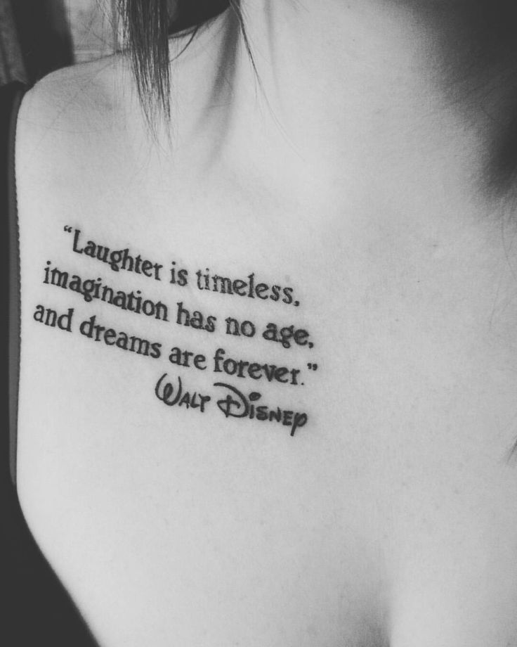 25 Disney Quote Tattoo Designs Images Sayings Quotesbae