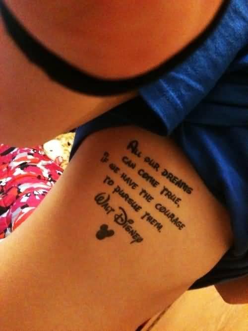 Disney Quote Tattoo Meme Image 14