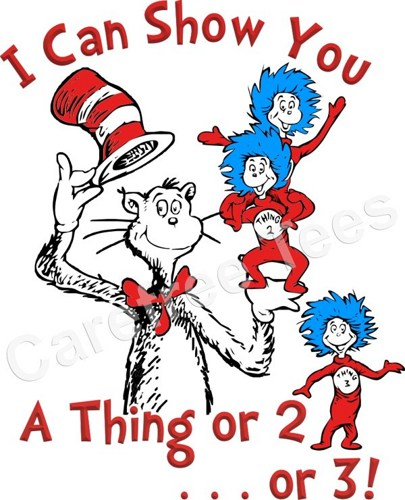 Dr Seuss Thing 1 And Thing 2 Quotes Meme Image 10