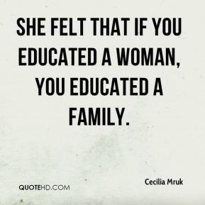 Educated Woman Quotes Meme Image 01