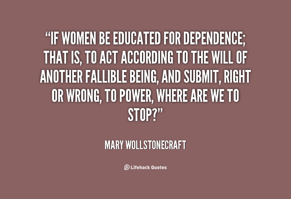 Educated Woman Quotes Meme Image 13