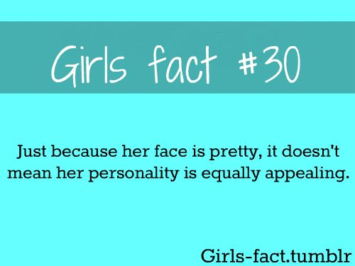 Facts About Girls Quotes Meme Image 05