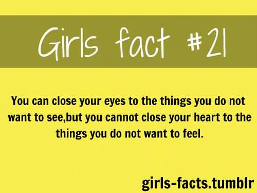 Facts About Girls Quotes Meme Image 18