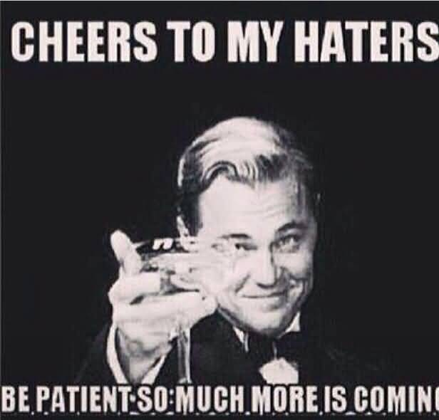 Funny Quotes About Haters: 25 Funny Hater Quotes And Sayings Collection