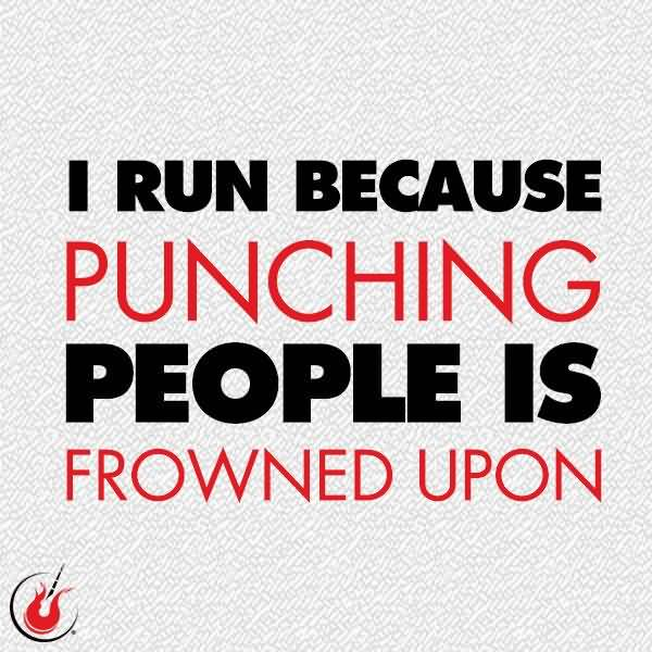 Funny Running Quotes Meme Image 17