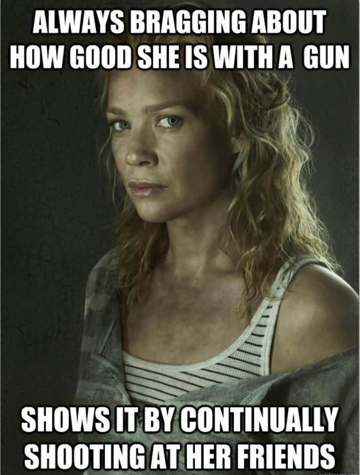 Funny Walking Dead Quotes Meme Image 13