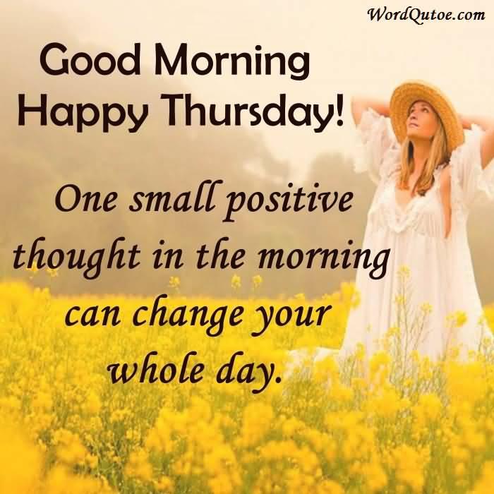 Good Morning Thursday Quotes Meme Image 06