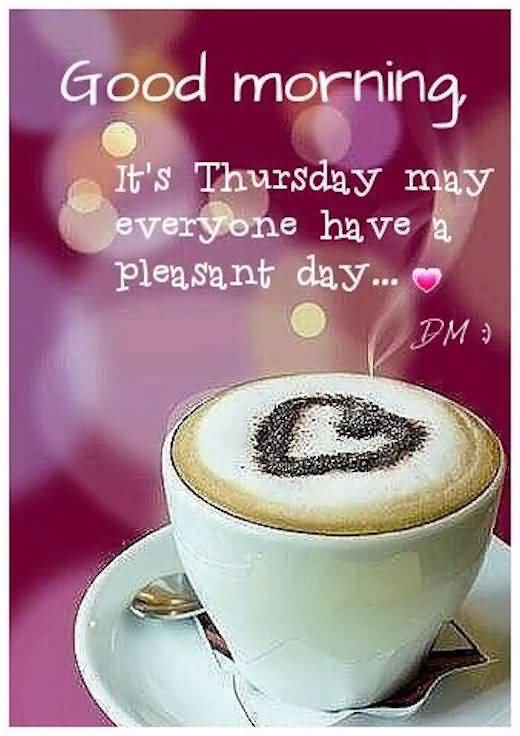 Good Morning Thursday Quotes Meme Image 10