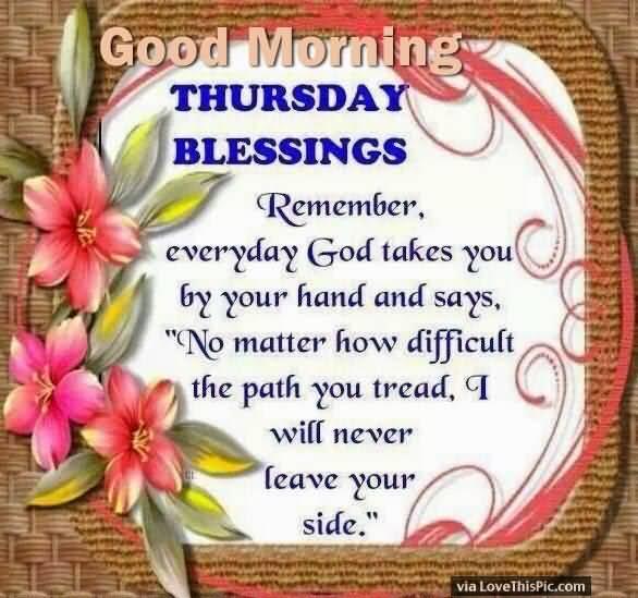 Good Morning Thursday Quotes Meme Image 11