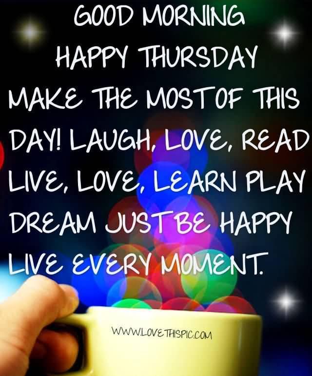 Good Morning Thursday Quotes Meme Image 13