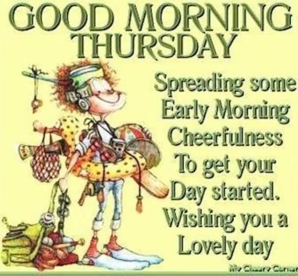 Good Morning Thursday Quotes Meme Image 19