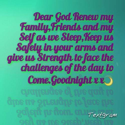 Good Night Prayers Quotes Meme Image 03