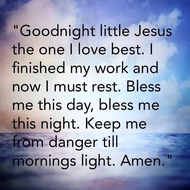 Good Night Prayers Quotes Meme Image 09