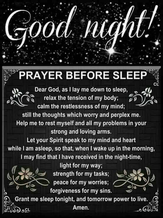Good Night Prayers Quotes Meme Image 10