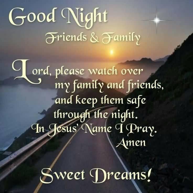 Good Night Prayers Quotes Meme Image 12