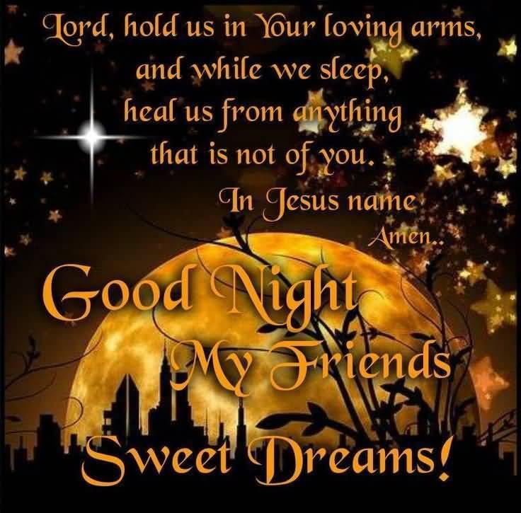 Good Night Prayers Quotes Meme Image 15
