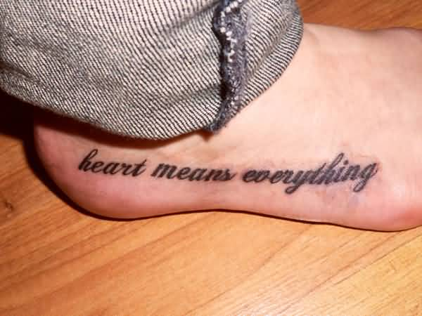 Good Quotes For Foot Tattoos Meme Image 12
