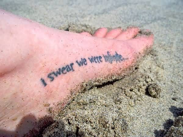 Good Quotes For Foot Tattoos Meme Image 13