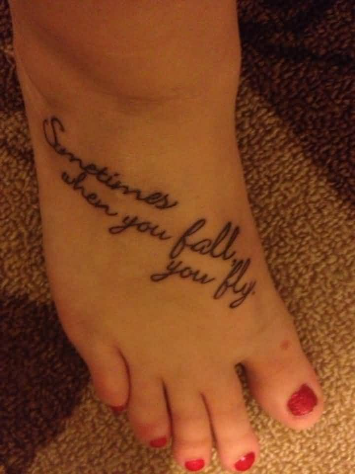 Good Quotes For Foot Tattoos Meme Image 17