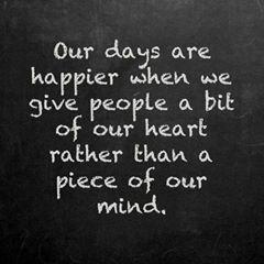 Happy Heart Quotes Meme Image 04