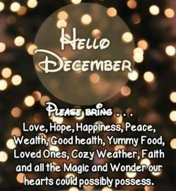 Hello December Quotes Meme Image 03