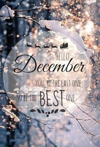 Hello December Quotes Meme Image 09