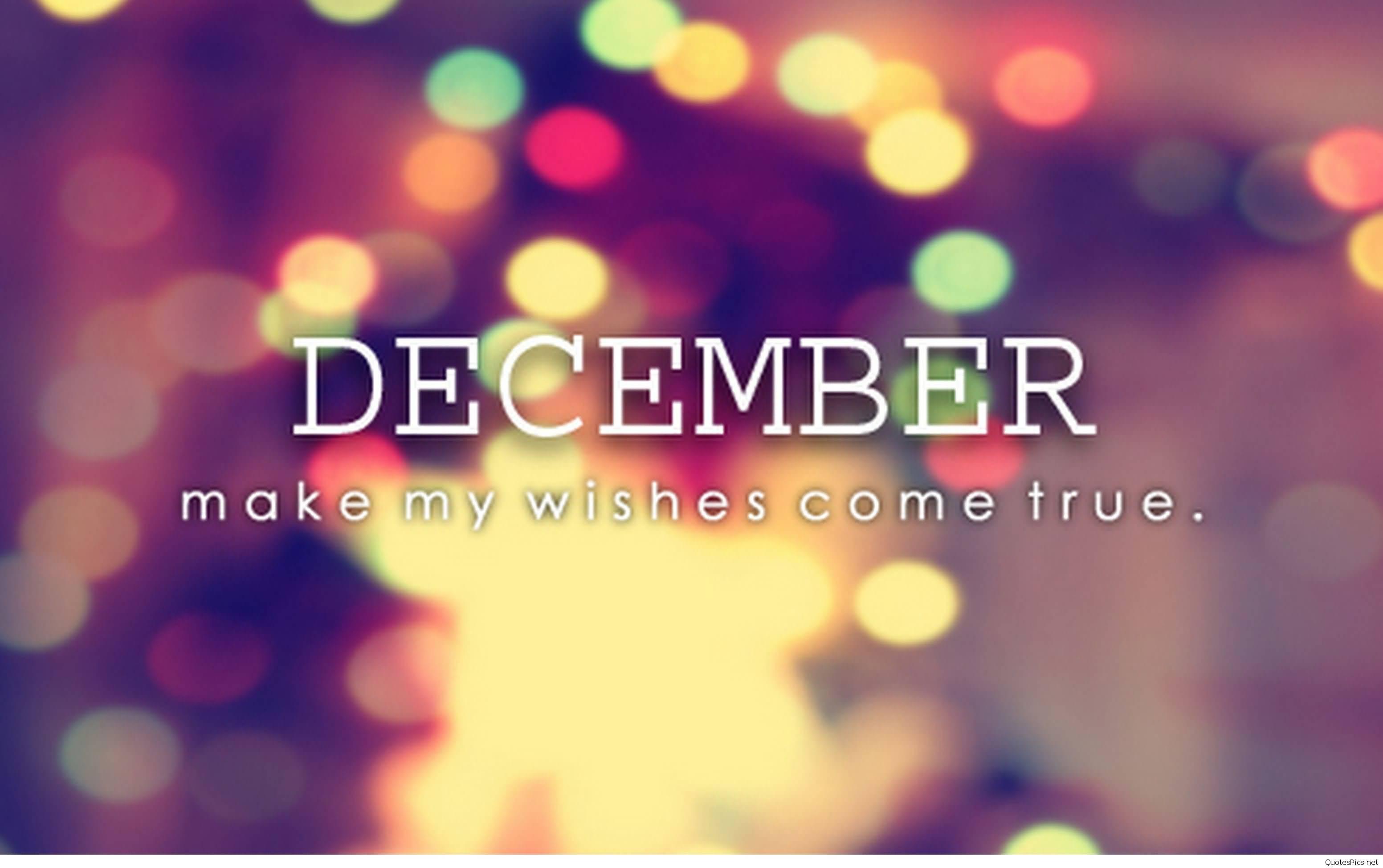 Hello December Quotes Meme Image 18