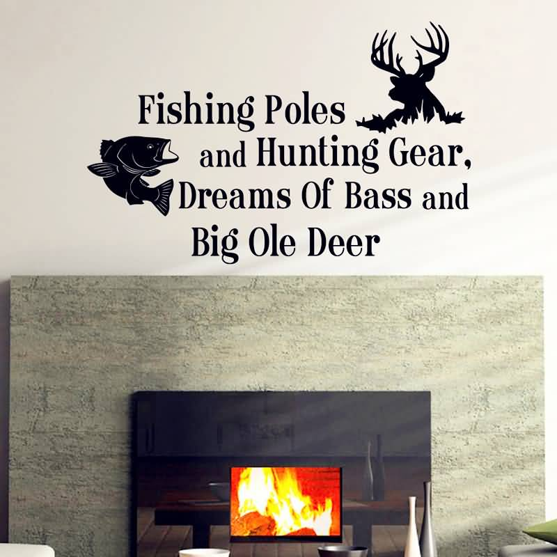 Hunting And Fishing Quotes Meme Image 19