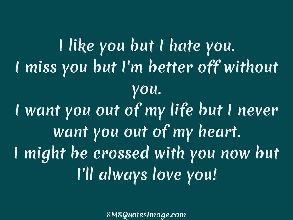 I Hate You Quotes Love: 25 I Hate You But I Love You Quotes And Sayings
